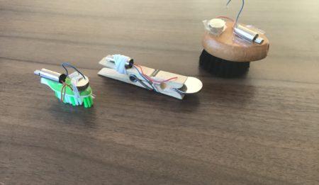Ihr habt eigene Roboter gebaut!