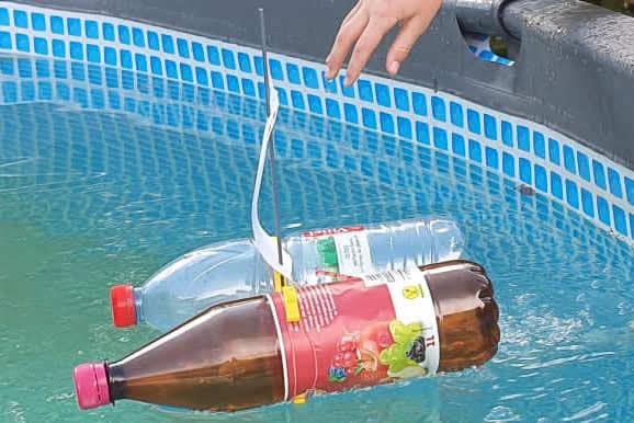Ihr habt ein Boot gebaut und mit Wasser experimentiert!
